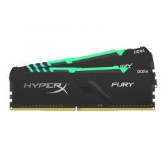 RAM DDR4 16GB 3000MHz HyperX FURY BLACK RGB, kit 2x8 GB, CL15, 1Rx8, DIMM