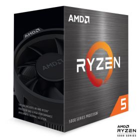AMD Ryzen 5 5600X 3,7/4,6GHz 32MB AM4 Wraith Stealth hladilnik BOX procesor