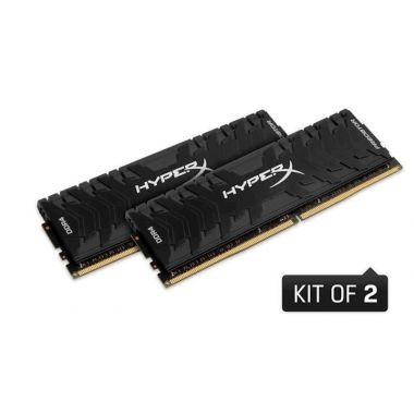 RAM DDR4 32GB 3200MHz HyperX PREDATOR, CL16, DIMM, XMP, kit (2 x 16 GB)