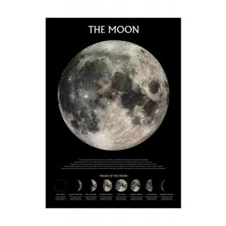 Pyramid THE MOON - OUTER SPACE MAXI POSTER