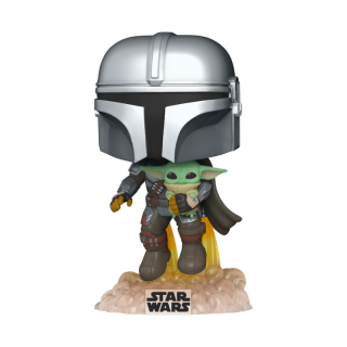 FUNKO POP STAR WARS: THE MANDALORIAN - MANDO FLYING W/JET PACK