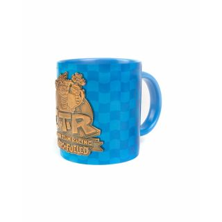 Official Crash Team Racing Nitro-Fueled Metal Badge Mug