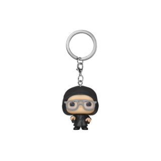 FUNKO POP KEYCHAIN: THE OFFICE -DWIGHT AS DARK LORD