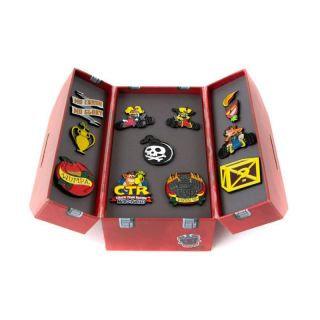 Official Crash Team Racing Nitro-Fueled Toolbox Pin Set