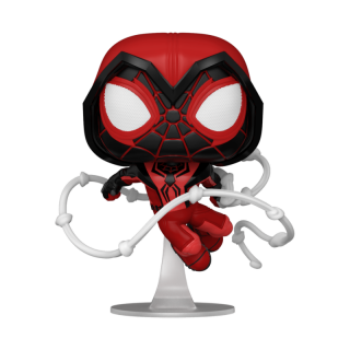 FUNKO POP GAMES: MILES MORALES - CRIMSON COWL SUIT