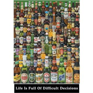 Pyramid LIFE IS FULL OF HARD DECISIONS MAXI POSTER