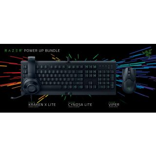 Razer Power Up Bundle, Cynosa Lite & Viper & Kraken X Lite, UK SLO g.